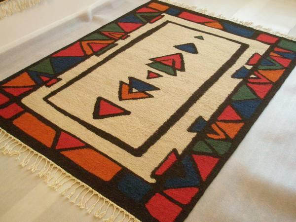 Artesania de africa alfombras y tapices alfombra tnica for Alfombras etnicas