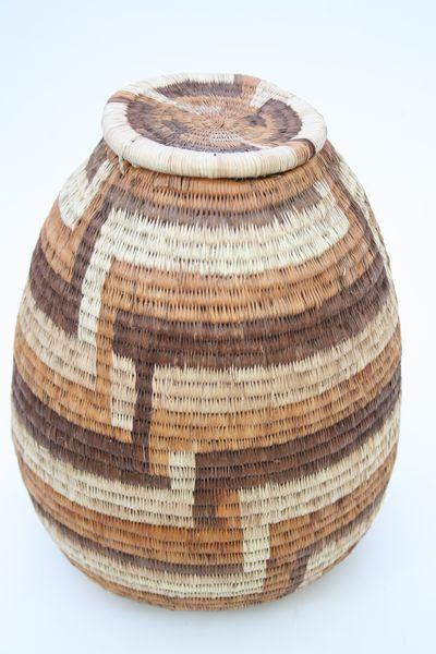 Artesania africa comercio justo desarrollo sostenible - Cestos de palma ...