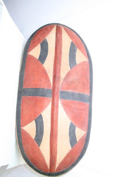 Artesania De Africa Armas Y Escudos Gran Escudo Masai
